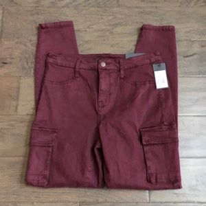 Mossimo sanred high-rise jegging, Sz 6, NWT